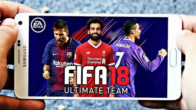 تحميل FIFA 18 Mod DLS Offline Android HD الرسومات