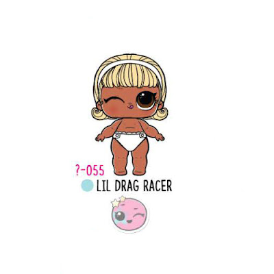 Беби Лол Сюрприз Eye Spy по имени Lil Drag Racer