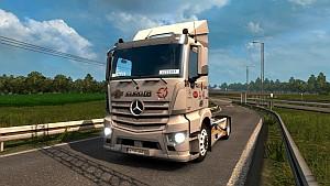 Mercedes Antos Brand skin