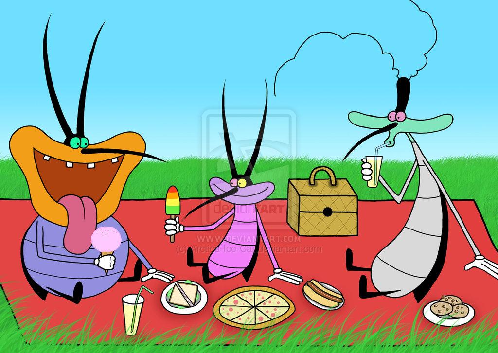 Cockroach Oggy And Cockroach Cartoon