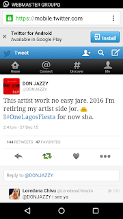 Don Jazzy plans to retire as an artiste in 2016