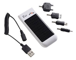 Charge your electronic devices by solar power!