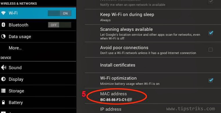 Cara Mengetahui MAC Address di Hp Android 3