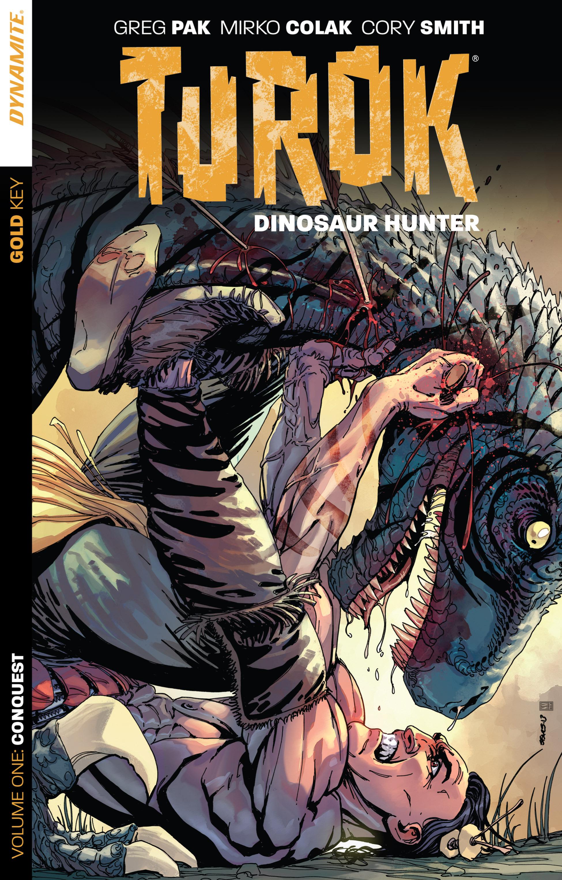 Read online Turok: Dinosaur Hunter (2014) comic -  Issue # _TPB 1 - 1
