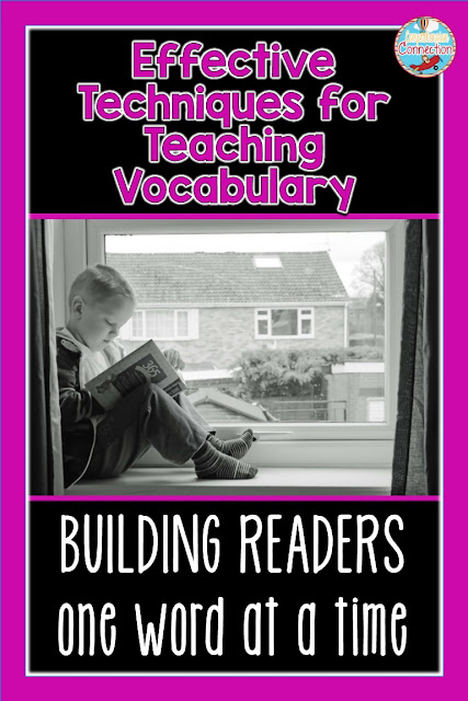 If you're looking for teaching ideas to build vocabulary, then check out this post on Classroom Tested Resources. It included five effective techniques for teaching vocabulary.