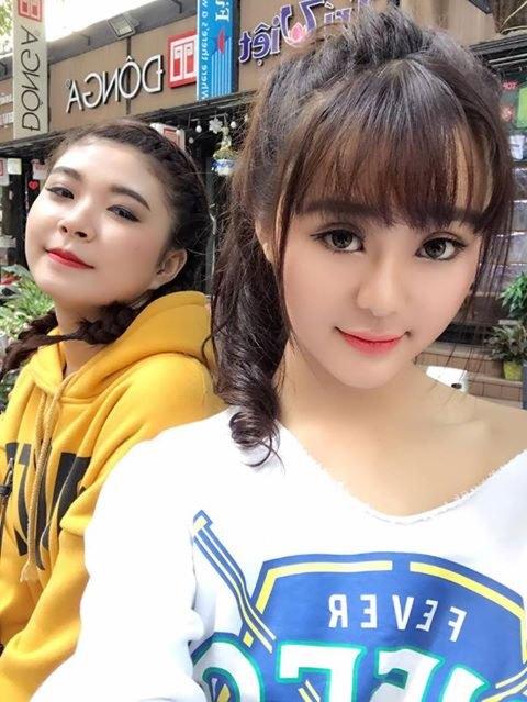 Hot girl Quỳnh Lê Mặt xinh khả ái xinh đẹp 31