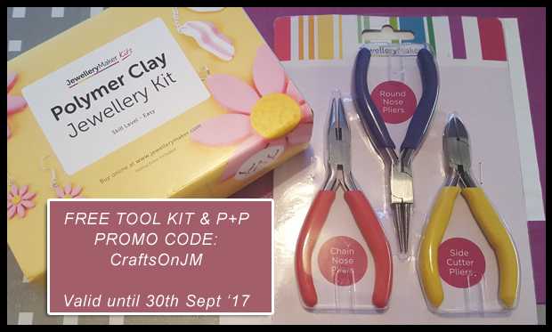Use promo code CraftsOnJM to get a free Tool Kit from JewelleryMaker.com