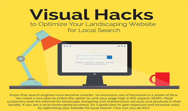 Visual hacks to optimize your landscaping website