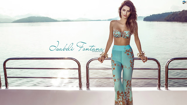 Isabeli Fontana HD Wallpaper