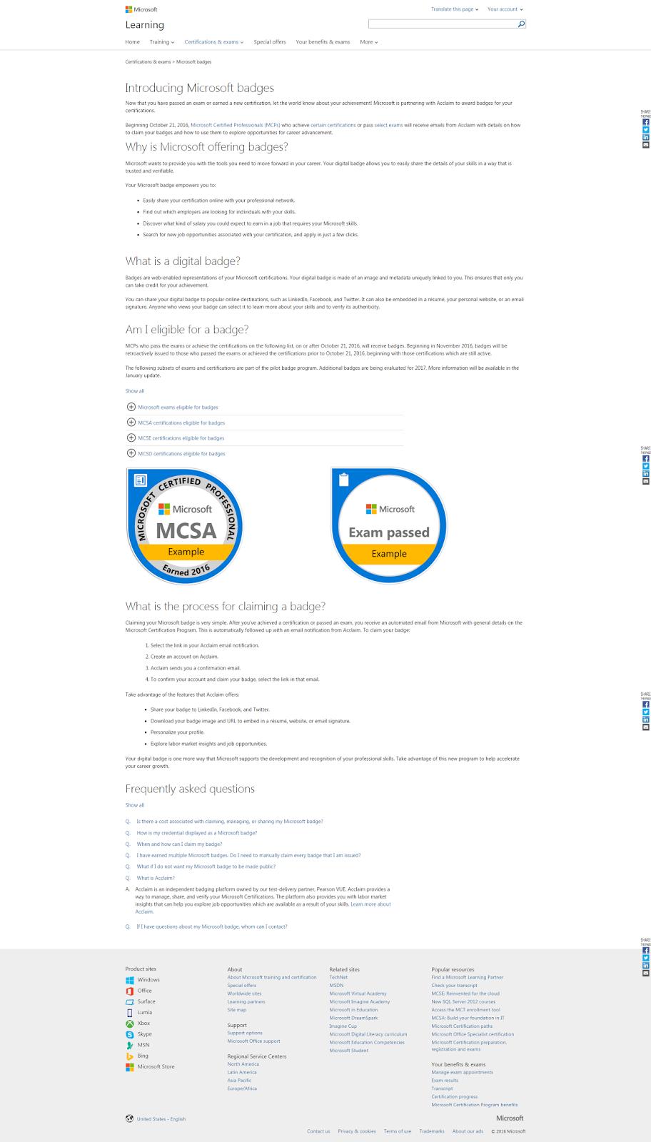 Microsoft Badge Funfndroid