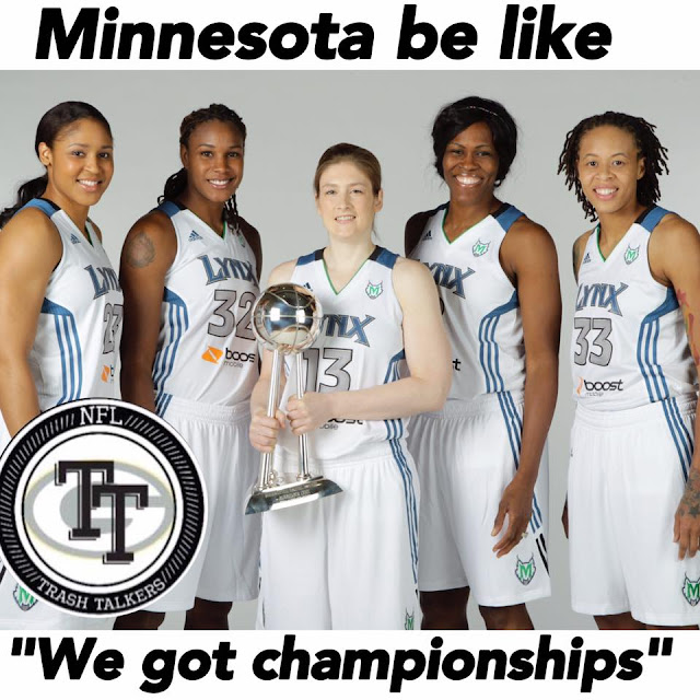 "minnesota be like ""we got championships"""