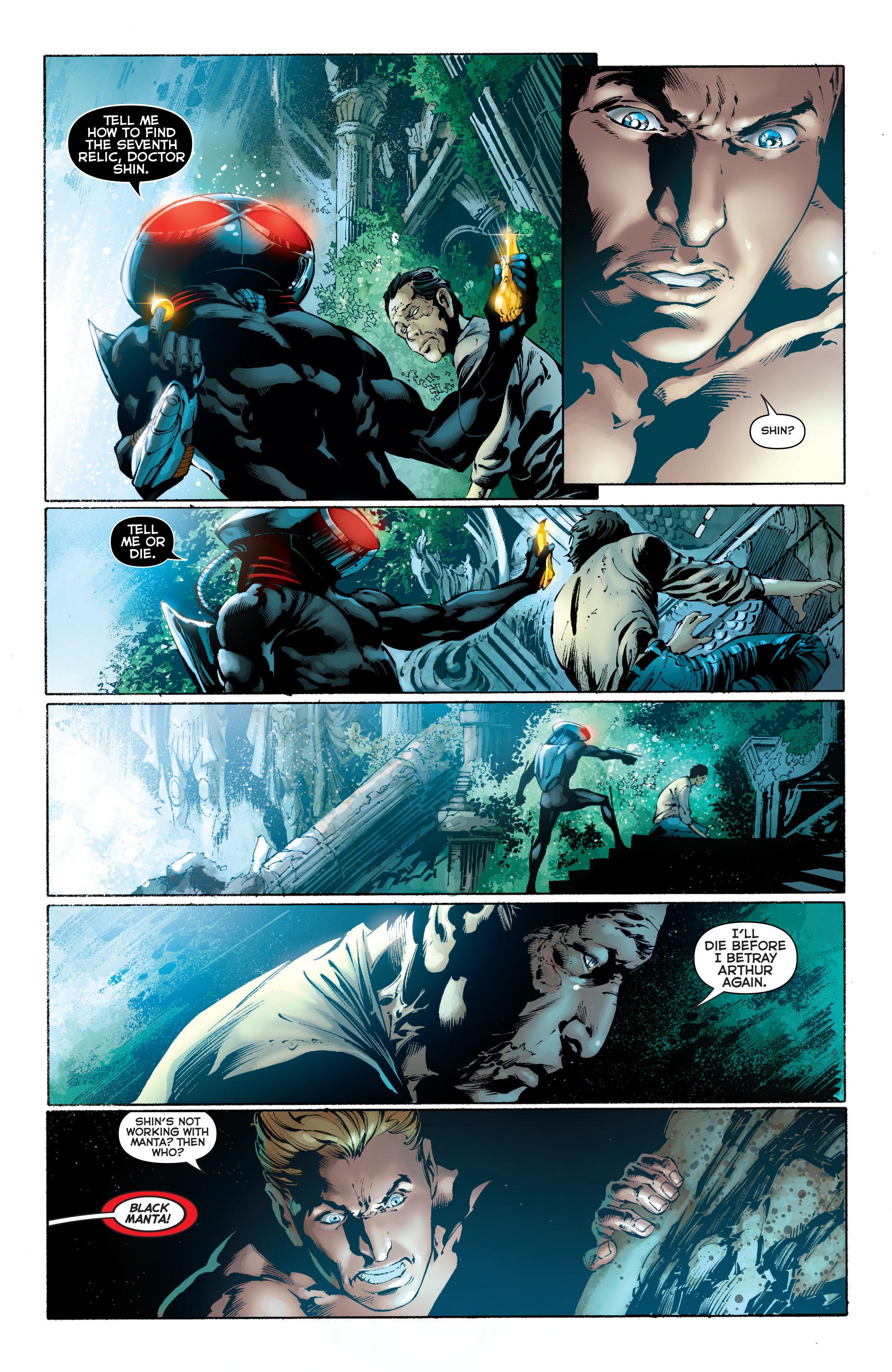 Read online Aquaman (2011) comic -  Issue #11 - 18
