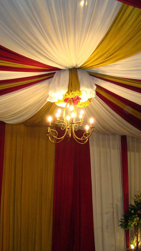 Jasa Pembuatan Plafon Dekorasi Tenda Pesta - Kab. Kuningan
