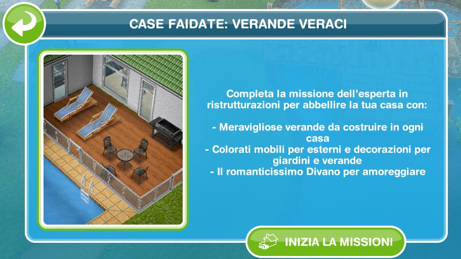 the sims freeplay it: case fai da te: verande veraci - Divano Per Veranda