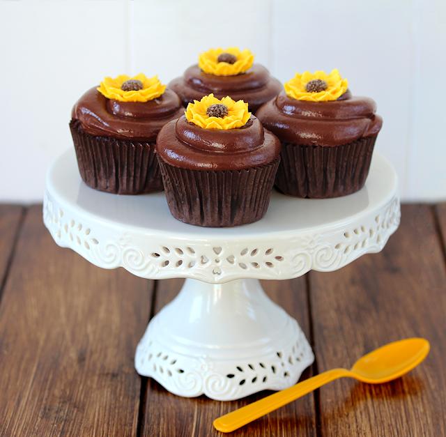 Cupcakes de choclate y café