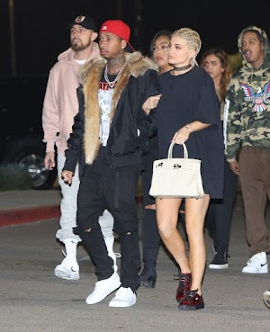Kylie Jenner adopts braids to go to the show with the boyfriend, Tyga
