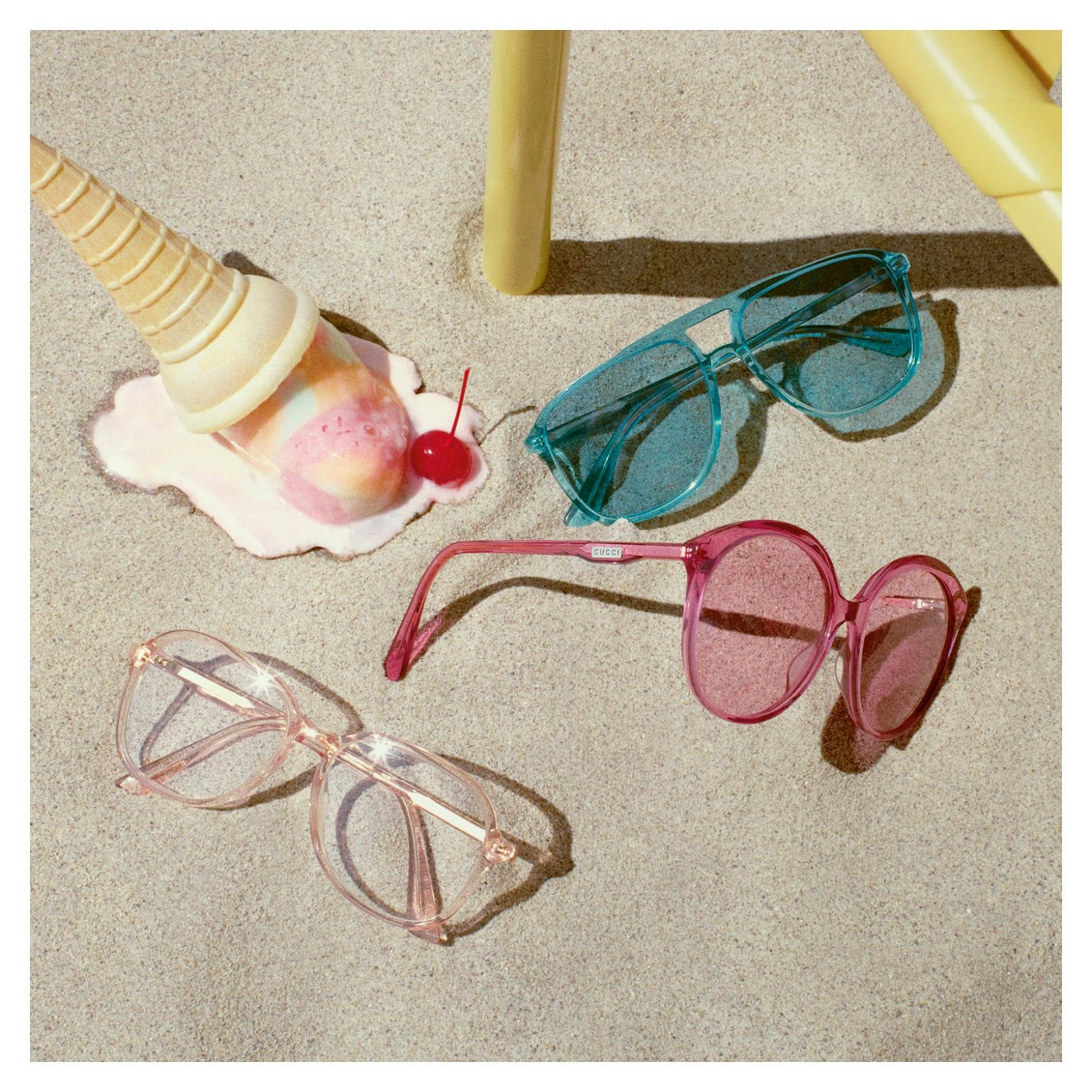 Gucci Venice Beach Shade Eyewear Summer 2018 Campaign