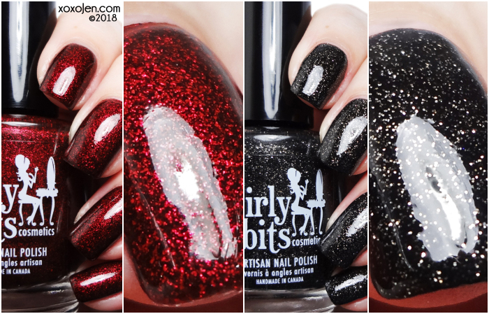 xoxoJen's swatch of Girly Bits COTM: January 2019