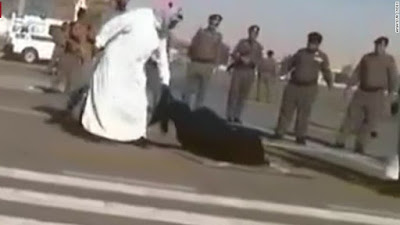Public execution of a Burmese woman in Saudi Arabia (file photo)