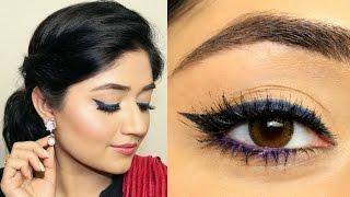 Indian Festive Makeup Tutorial : Bold Eyeliner