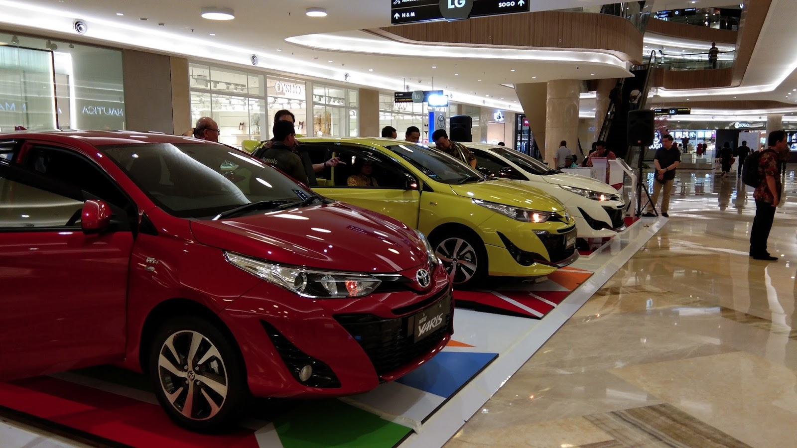 toyota yaris trd putih all new camry thailand hadirkan dna motorsport launching di