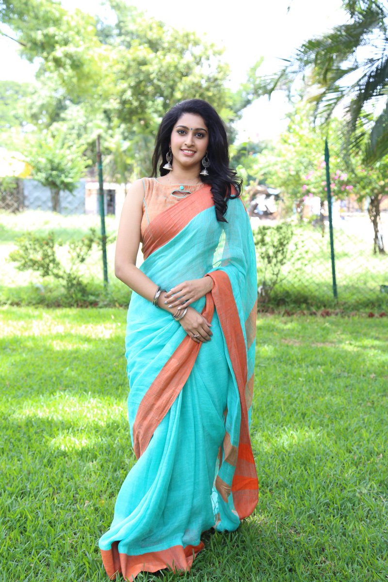 Actress Tanya Latest Images In Saree