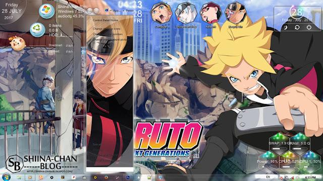 Boruto: Naruto Next Generations V2 Theme Win 7 by Enji Riz Lazuardi