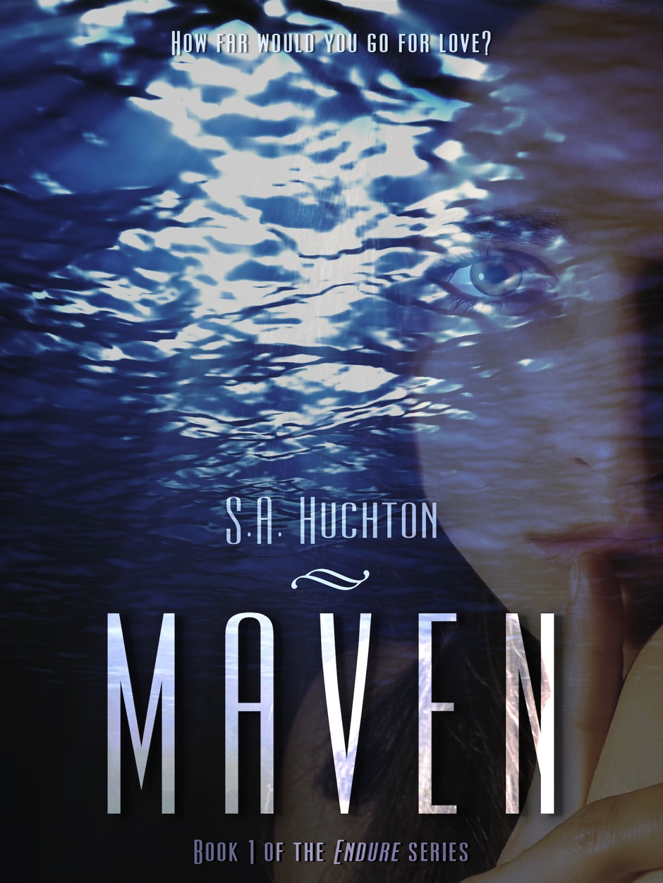 Cover Reveal: MAVEN by S. A. Huchton