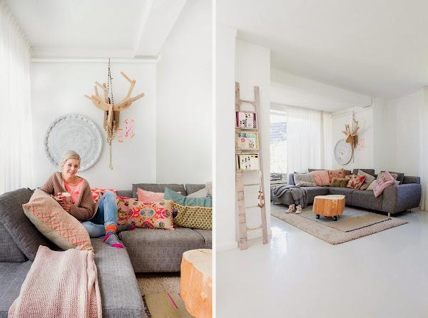 Nos colamos en una casa con mucha vida y encanto decorar - Todo casa decoracion ...