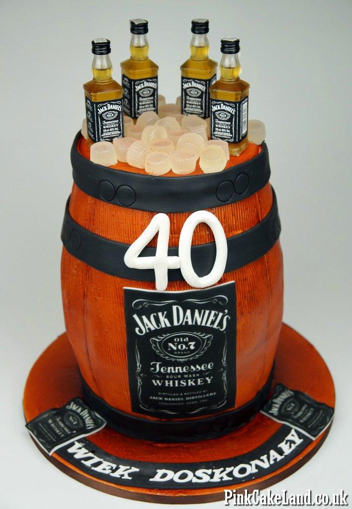 Stupendous Birthday Cakes Cakes Jack Daniels Cake London Personalised Birthday Cards Sponlily Jamesorg