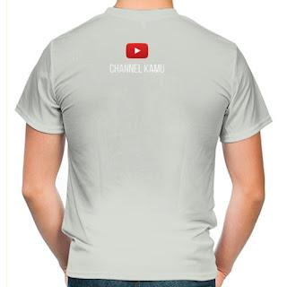 Kaos Youtuber Keren dan Terbaik
