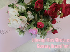 Unboxing Althea Christmas Giveaway Reward Point + eyeshadow palette by 16Brand