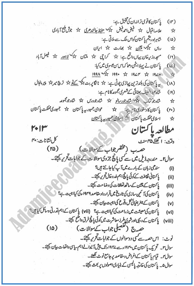 Urdu essays