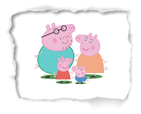 Familia da Peppa Pig