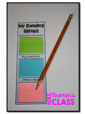Mrs. Bremer's Class: Using Sticky Notes for Learning