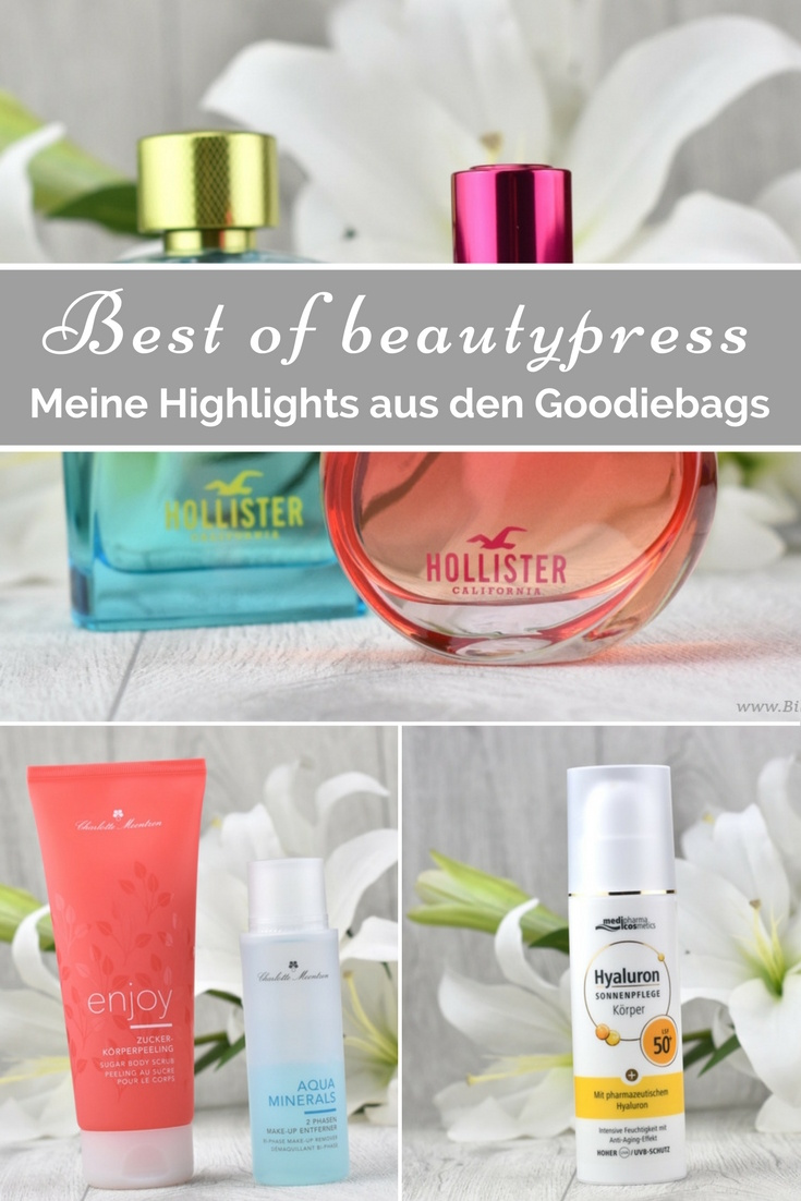 Meine Favoriten aus den beautypress Goodie Bags