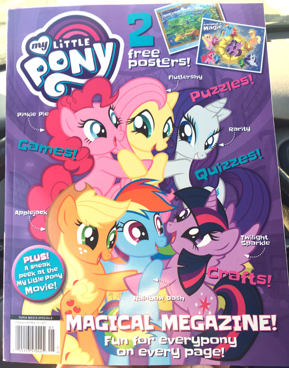 new my little pony magazine launched in the us mlp merch