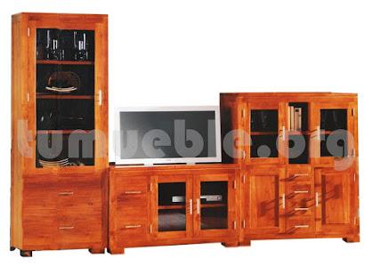mueble modular en teca 4077