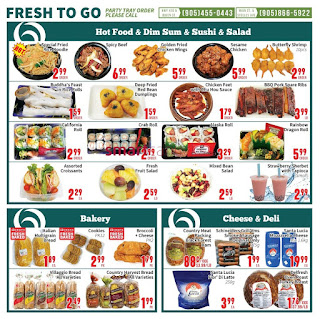 Oceans Fresh Food Market Flyer May 12 to 18, 2017 - Brampton