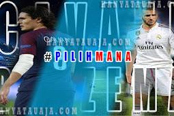 #PilihMana?, Edinson Cavani Atau Karim Benzema?