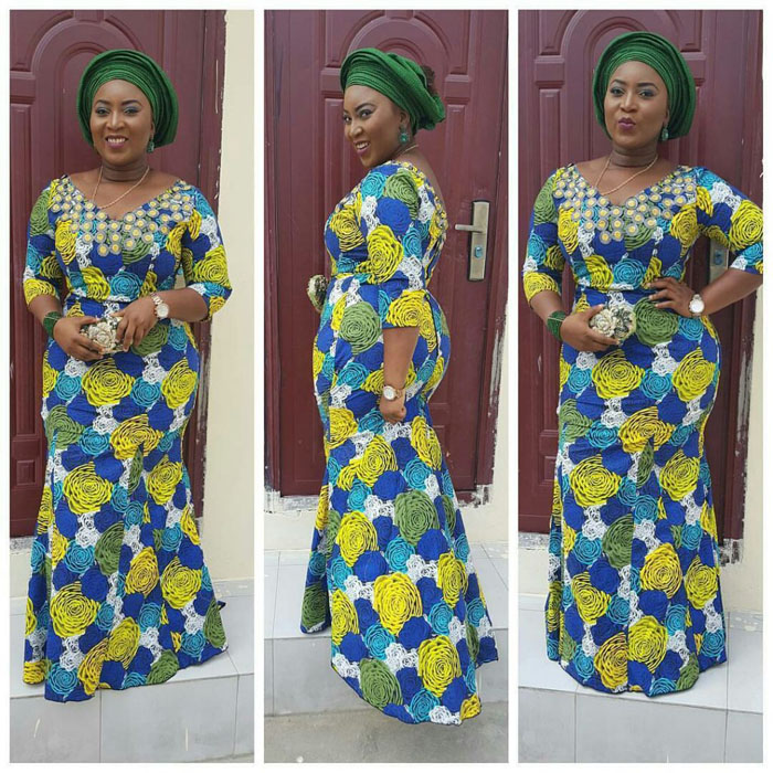 60 Pictures Of The Latest Lace And Ankara Style Combos In 2017