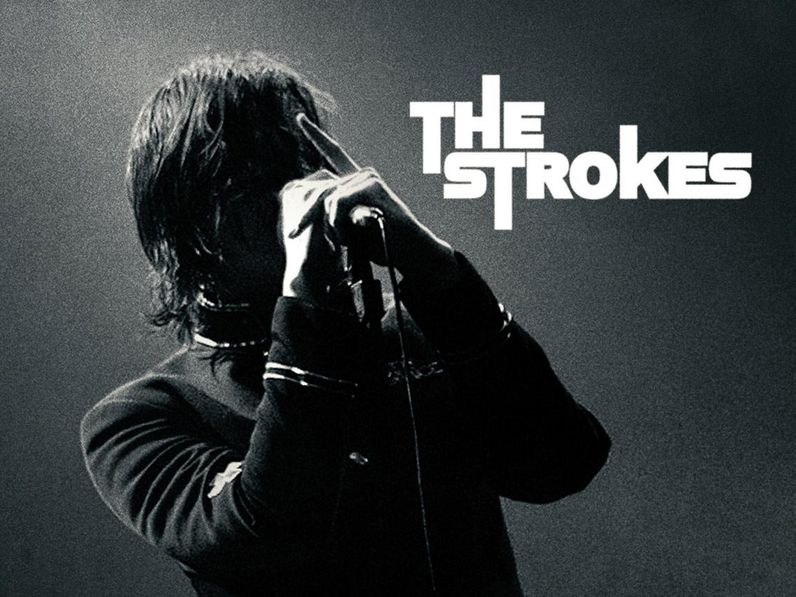166 The Strokes Guitarras E Nanquim