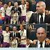 Zidane viendo a James en el Real Madrid