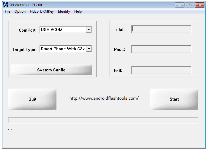 Download SN Write Tool To Flash Multiple IMEI On MediaTek (MTK)