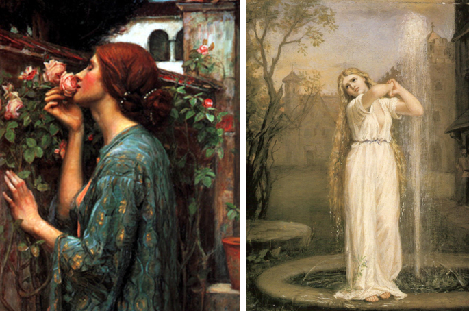Very Vanilla: New Enchantment: John William Waterhouse