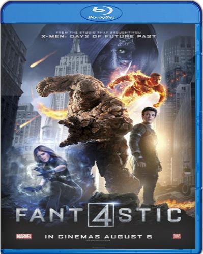 The Fantastic Four [2015] [BD25] [Latino]