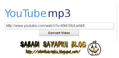 10 Web Online Untuk Convert Video Youtube Menjadi MP3