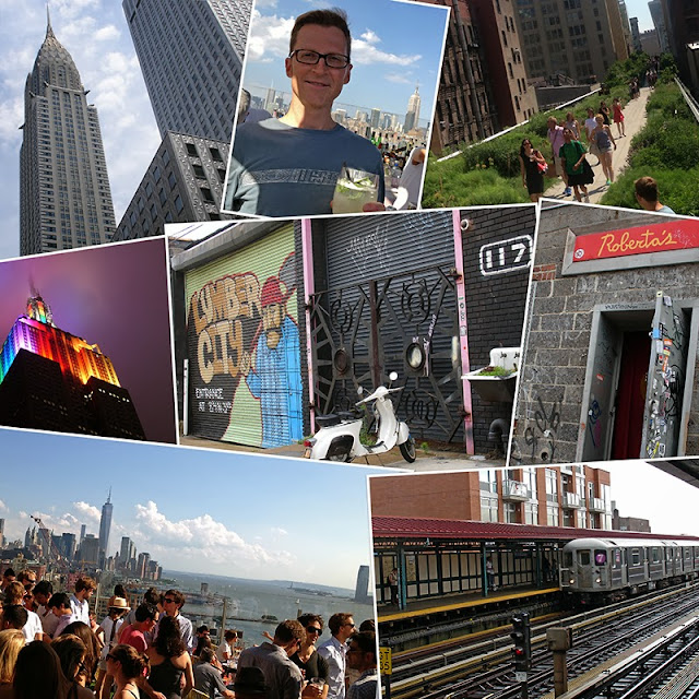 Collage photo de New York