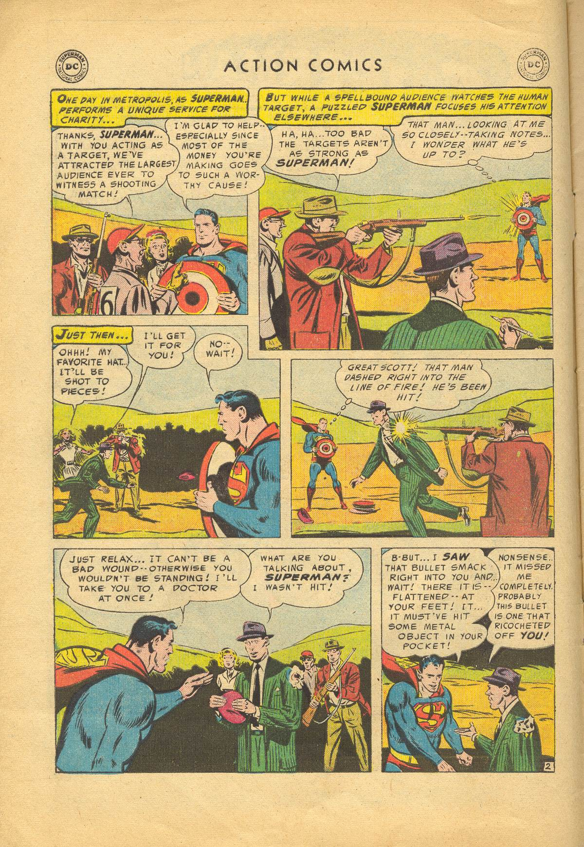 Read online Action Comics (1938) comic -  Issue #209 - 4
