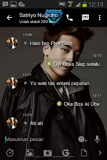 BBM Mod Tema Seungri BigBang v2.13.1.14 Apk Terbaru
